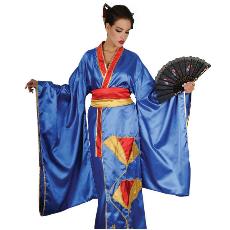 κιμονό μπλε-kimono blue